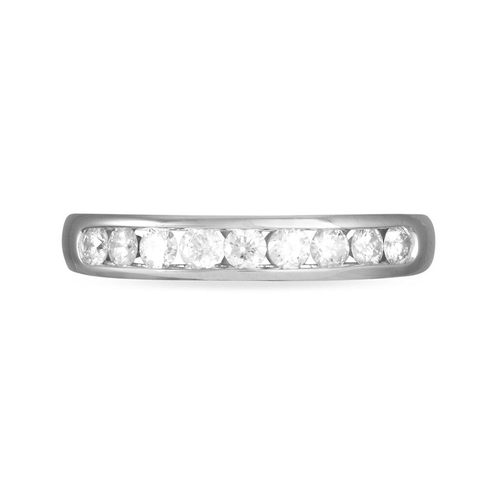 Alliance Giulia Or Blanc Diamant - Alliances Femme | Histoire d'Or