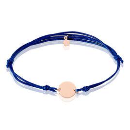 Bracelet Sofiatou Argent Rose - Bracelets cordon Femme | Histoire d'Or