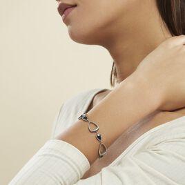 Bracelet Evhan Acier Blanc - Bracelets fantaisie Femme | Histoire d'Or
