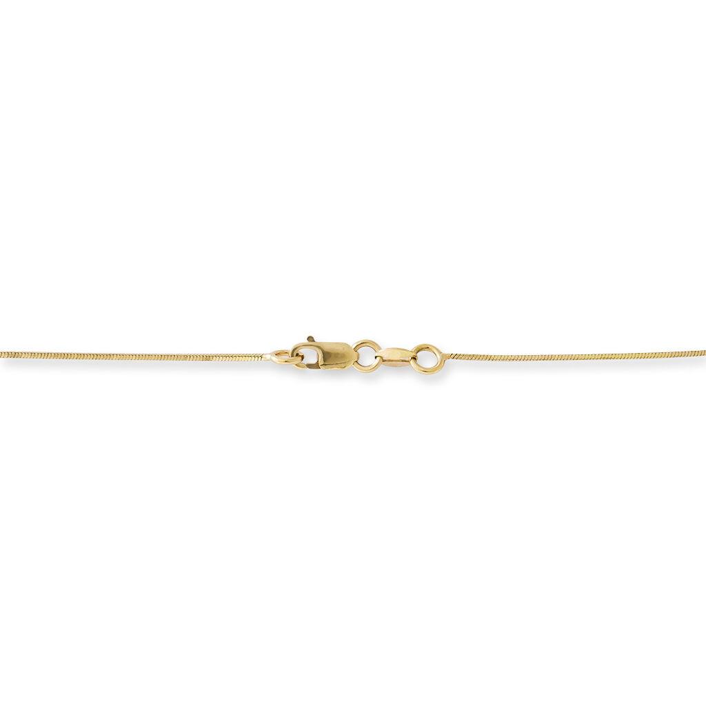 Collier Semra Or Jaune Diamant - Bijoux Femme | Histoire d'Or