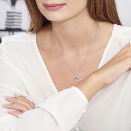 Collier Ema Argent Blanc Oxyde De Zirconium - Colliers fantaisie Femme | Histoire d'Or