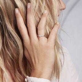 Bague Solitaire Laetitia Platine Blanc Diamant - Bagues solitaires Femme | Histoire d'Or