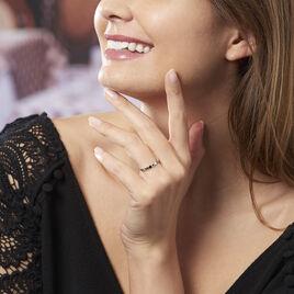Bague Ondina Argent Blanc Oxyde De Zirconium - Bagues avec pierre Femme | Histoire d'Or
