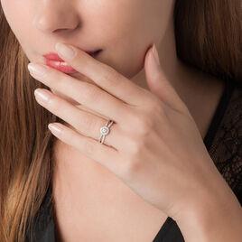 Bague Solitaire Cyranne Or Blanc Diamant - Bagues solitaires Femme | Histoire d'Or
