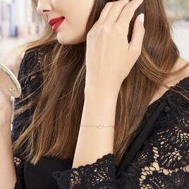 Bracelet Yris Plaque Or Jaune - Bracelets fantaisie Femme | Histoire d'Or