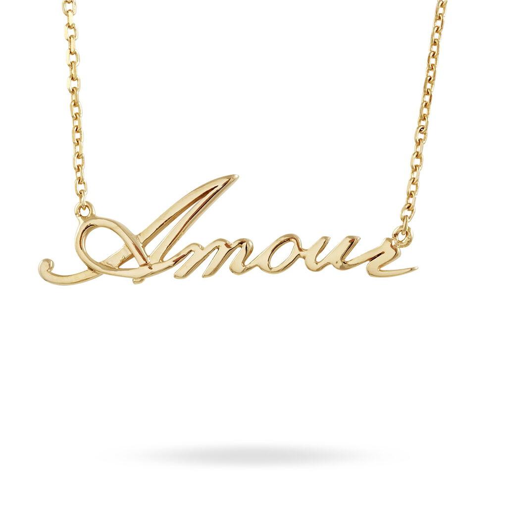 Collier Plaqué Or - Colliers fantaisie Femme | Histoire d'Or