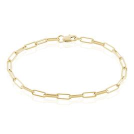 Bracelet Neala Plaque Or Jaune - Bracelets chaîne Femme | Histoire d'Or