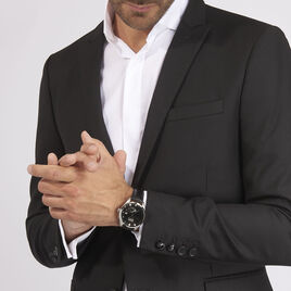 Montre Seiko Classique Kinetic Noir - Montres Homme | Histoire d'Or