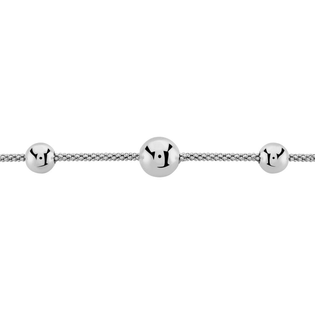 Bracelet Catarina Argent Blanc - Bracelets fantaisie Femme | Histoire d'Or