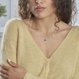 Collier Blandino Argent Blanc Perle De Culture - Colliers fantaisie Femme | Histoire d'Or