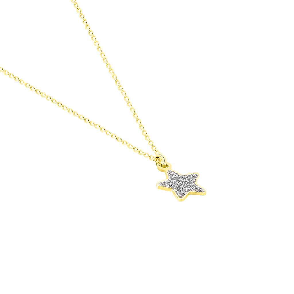 Collier Chirine Etoile Or Jaune - Colliers Etoile Enfant | Histoire d'Or