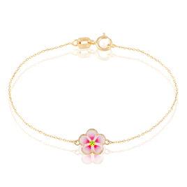 Bracelet Syna Fleur Or Jaune - Bracelets Naissance Enfant | Histoire d'Or