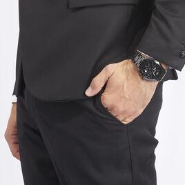 Montre Emporio Armani Valente Noir - Montres Homme | Histoire d'Or