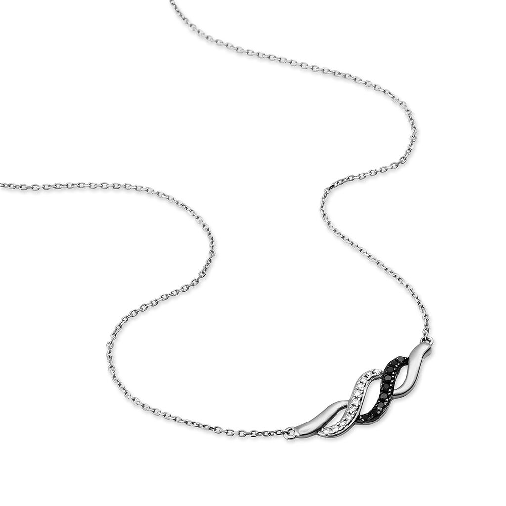 Collier Anita Or Blanc Diamant