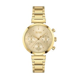 Montre Boss Flawless Champagne - Montres Femme | Histoire d'Or