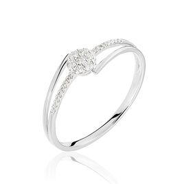 Bague Solitaire Atalante Or Blanc Diamant - Bagues solitaires Femme | Histoire d'Or