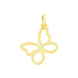 Pendentif Jaima Papillon Diamante Or Jaune - Pendentifs Papillon Femme | Histoire d'Or