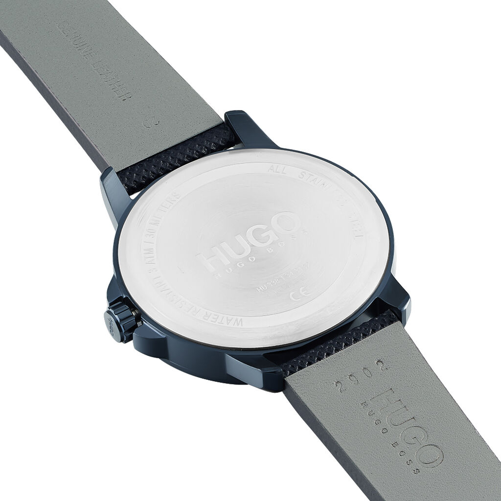 Montre Hugo Business Bleu