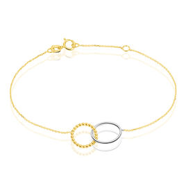Bracelet Elizabeta Or Bicolore - Bijoux Femme | Histoire d'Or
