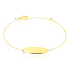 Bracelet Identite Bebe Or Jaune Anthonine - Bracelets Communion Enfant | Histoire d'Or