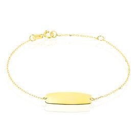 Bracelet Identite Bebe Or Jaune Anthonine - Bracelets Communion Enfant | Histoire d'Or