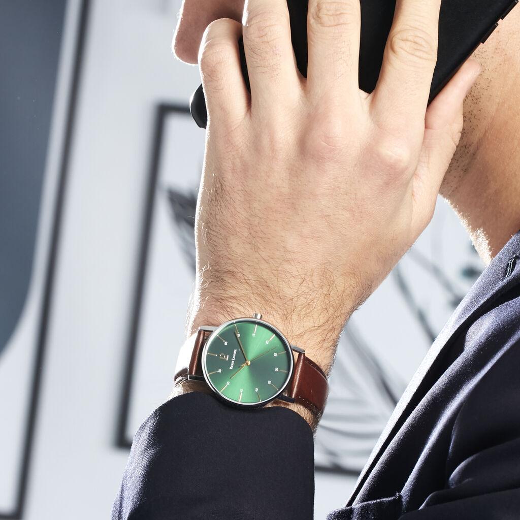 Montre Pierre Lannier Collection Cityline Vert - Montres tendances Homme | Histoire d'Or