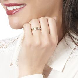Bague Abeline Or Jaune Diamant - Bagues avec pierre Femme   Histoire d'Or