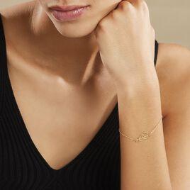 Bracelet Battista Or Jaune - Bracelets Coeur Femme | Histoire d'Or