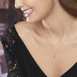 Collier Marnie Or Blanc Diamant - Bijoux Femme | Histoire d'Or