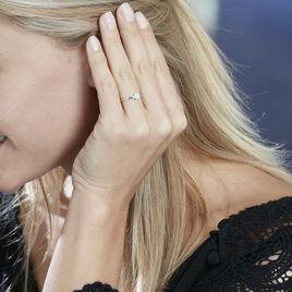 Bague Abbie Or Blanc Diamant - Bagues avec pierre Femme | Histoire d'Or