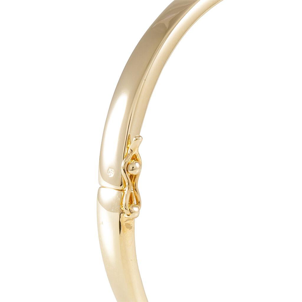 Bracelet Nacha Plaque Or Jaune - Bracelets fantaisie Femme   Histoire d'Or