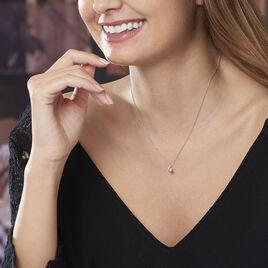 Collier Vrille Or Blanc Diamant - Bijoux Femme | Histoire d'Or