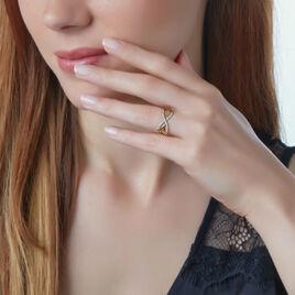 Bague Najett Or Jaune Diamant - Bagues avec pierre Femme | Histoire d'Or