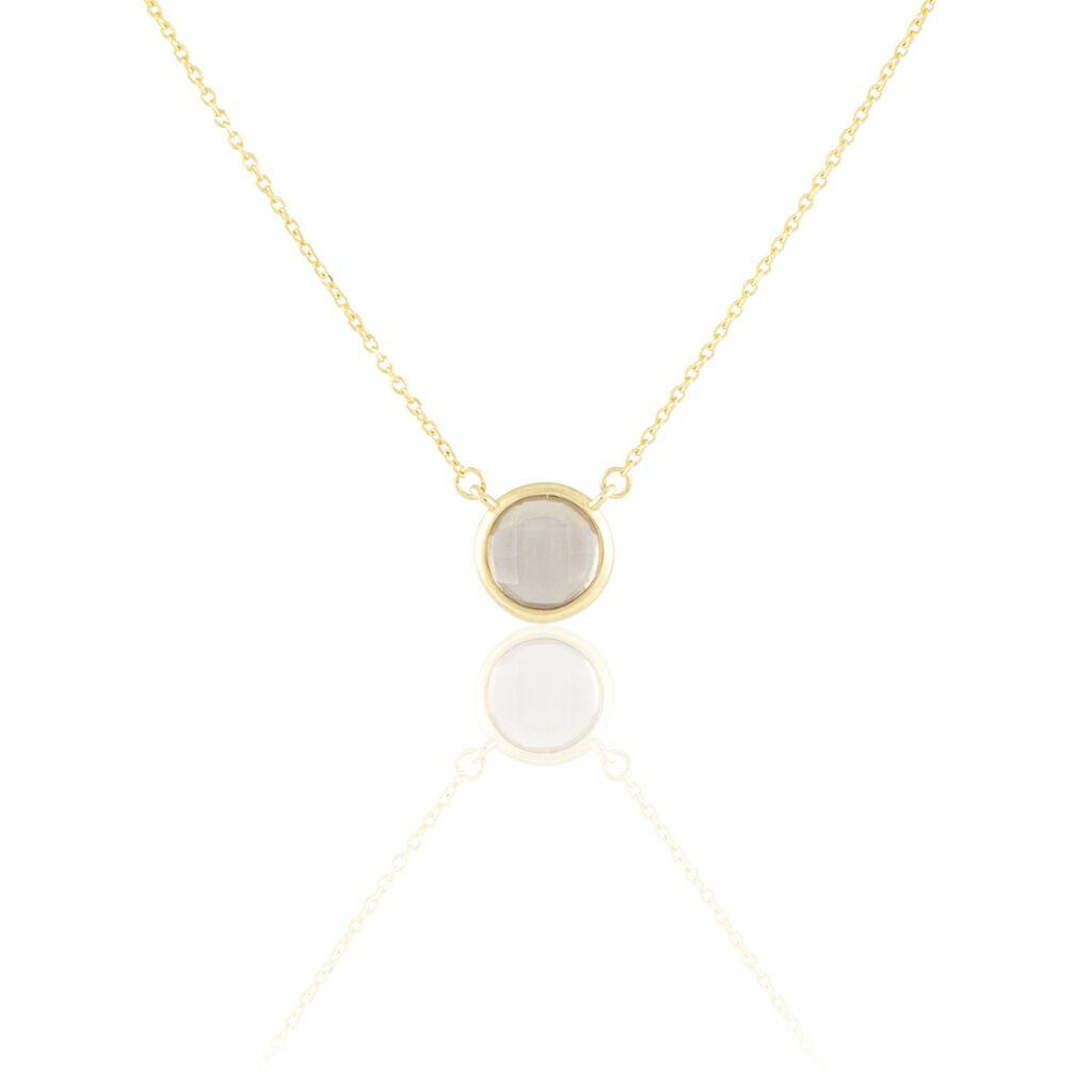 Collier Arenale Or Jaune Quartz - Bijoux Femme | Histoire d'Or