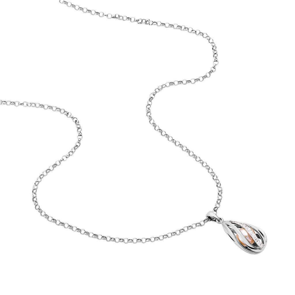 Alliance Valentine Or Blanc Diamant Synthetique - Alliances Femme   Histoire d'Or