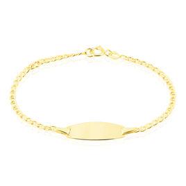Bracelet Identite Bebe Or Jaune Eudine - Bracelets Communion Enfant | Histoire d'Or