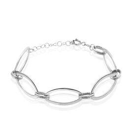Bracelet Soelie Argent Blanc - Bracelets fantaisie Femme | Histoire d'Or