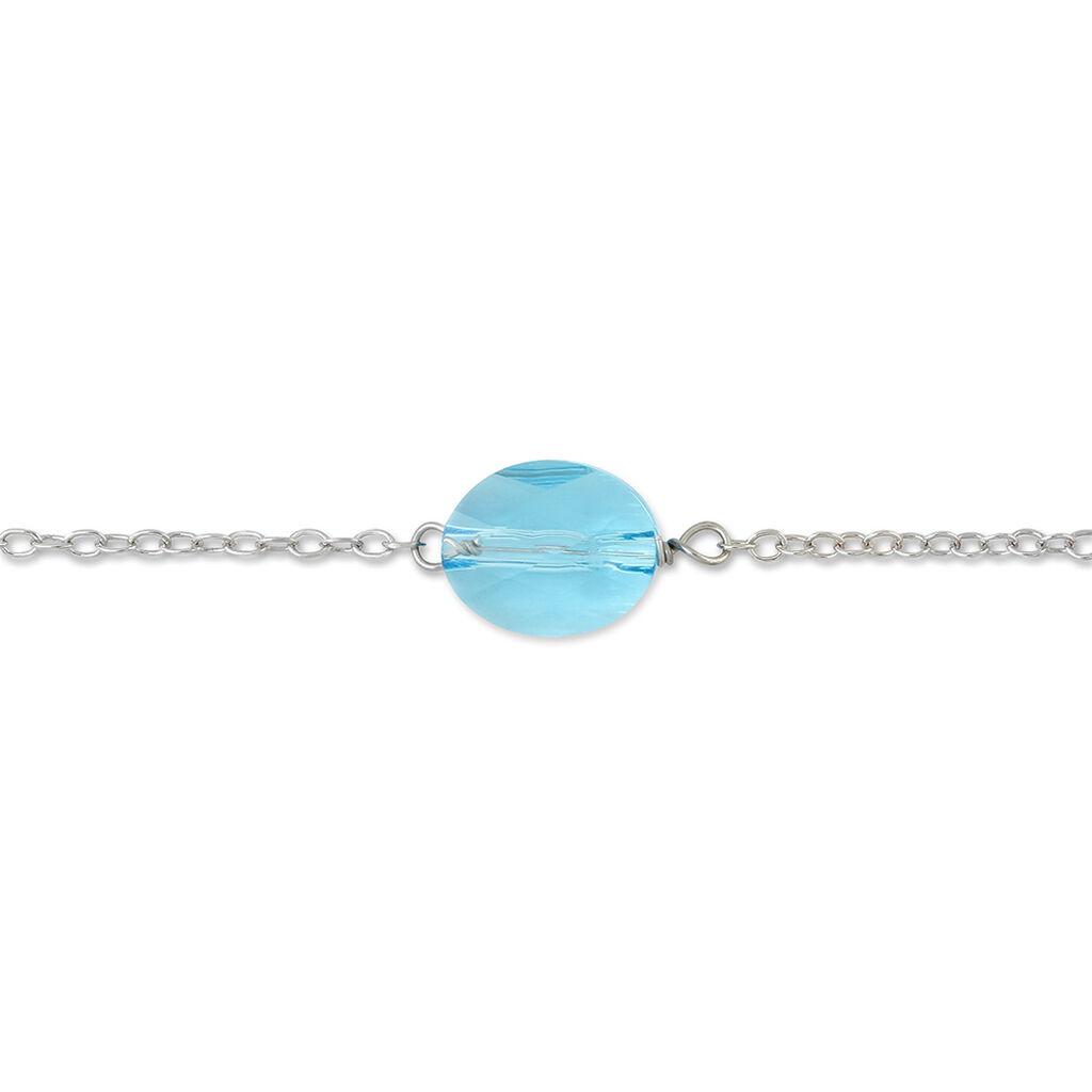 Bracelet Sirene Argent Blanc Cristaux De Swarovski - Bracelets fantaisie Femme | Histoire d'Or