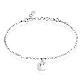 Bracelet Astre Argent - Bracelets Lune Femme   Histoire d'Or