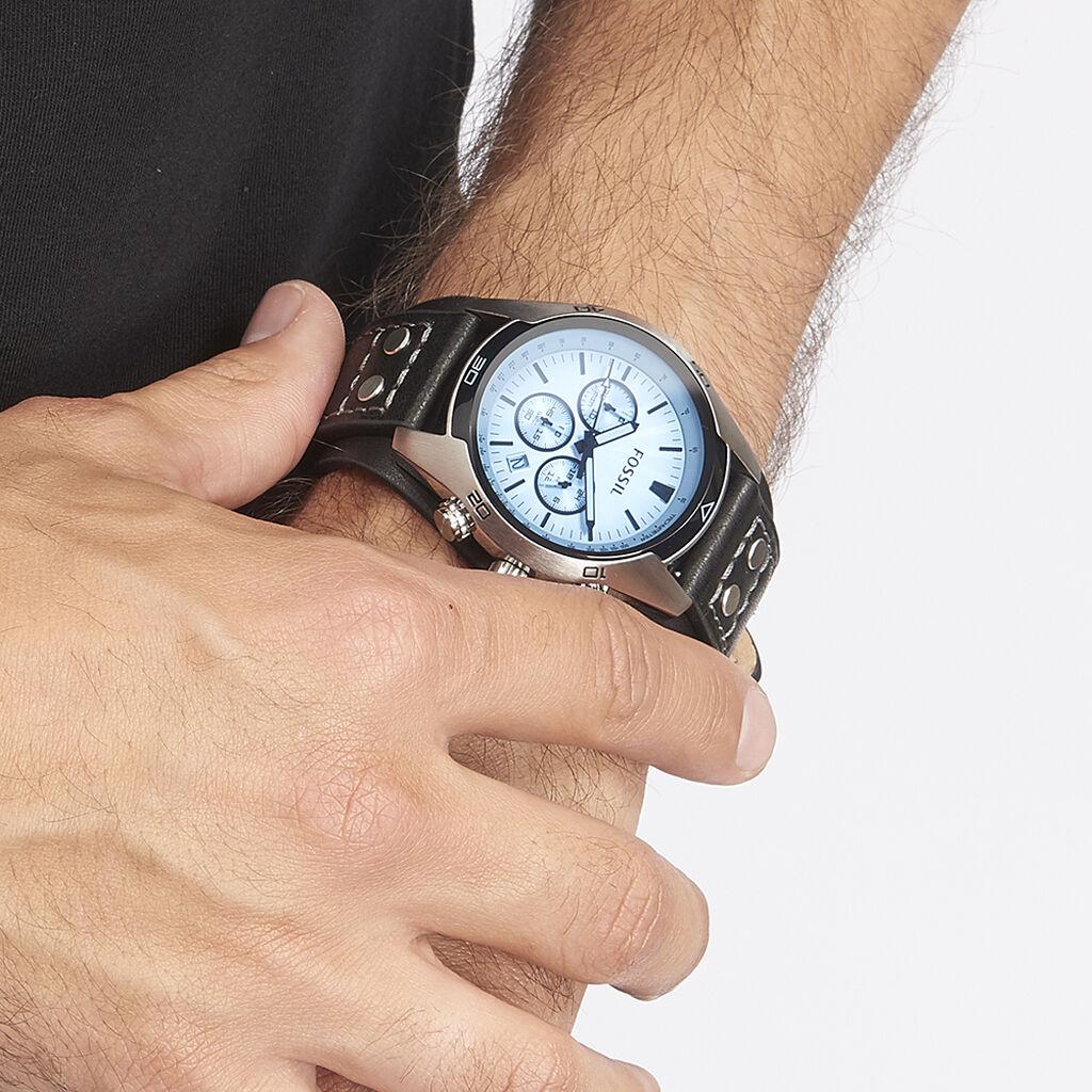 Montre Fossil Coachman Bleu - Montres classiques Homme | Histoire d'Or