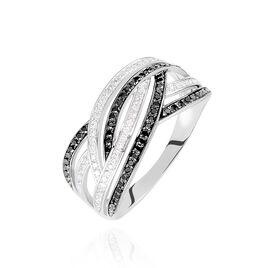 Bague Samsha Or Blanc Diamant - Bagues avec pierre Femme | Histoire d'Or