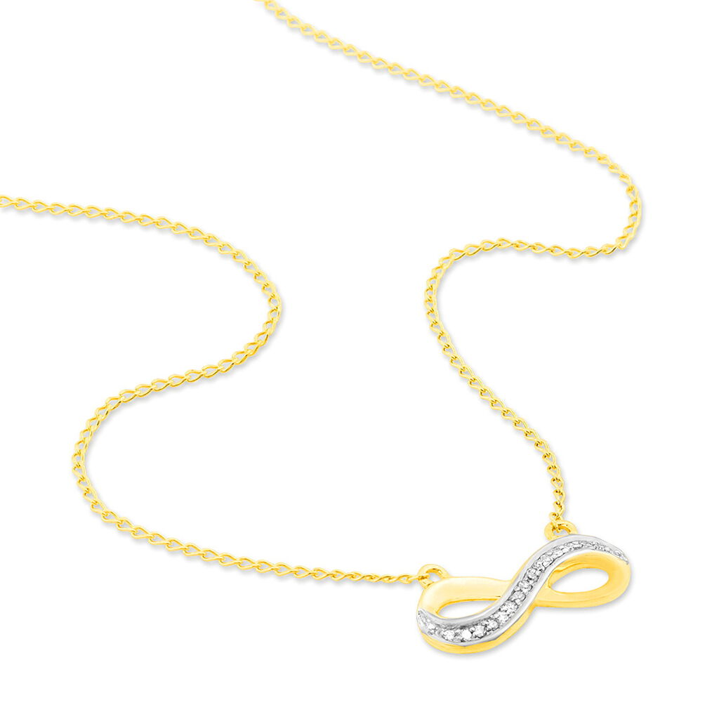 Collier Chacha Or Jaune Diamant - Colliers Infini Femme | Histoire d'Or