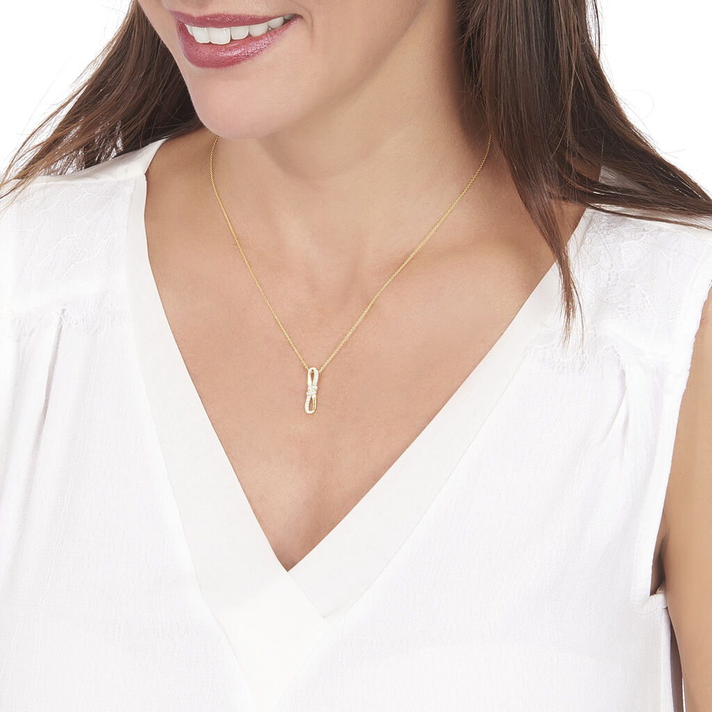 Collier Sybile Or Jaune Diamant - Bijoux Femme | Histoire d'Or