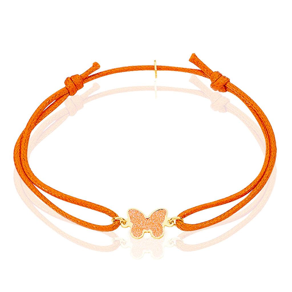 Bracelet Solena Papillon Or Jaune - Bracelets Baptême Enfant | Histoire d'Or