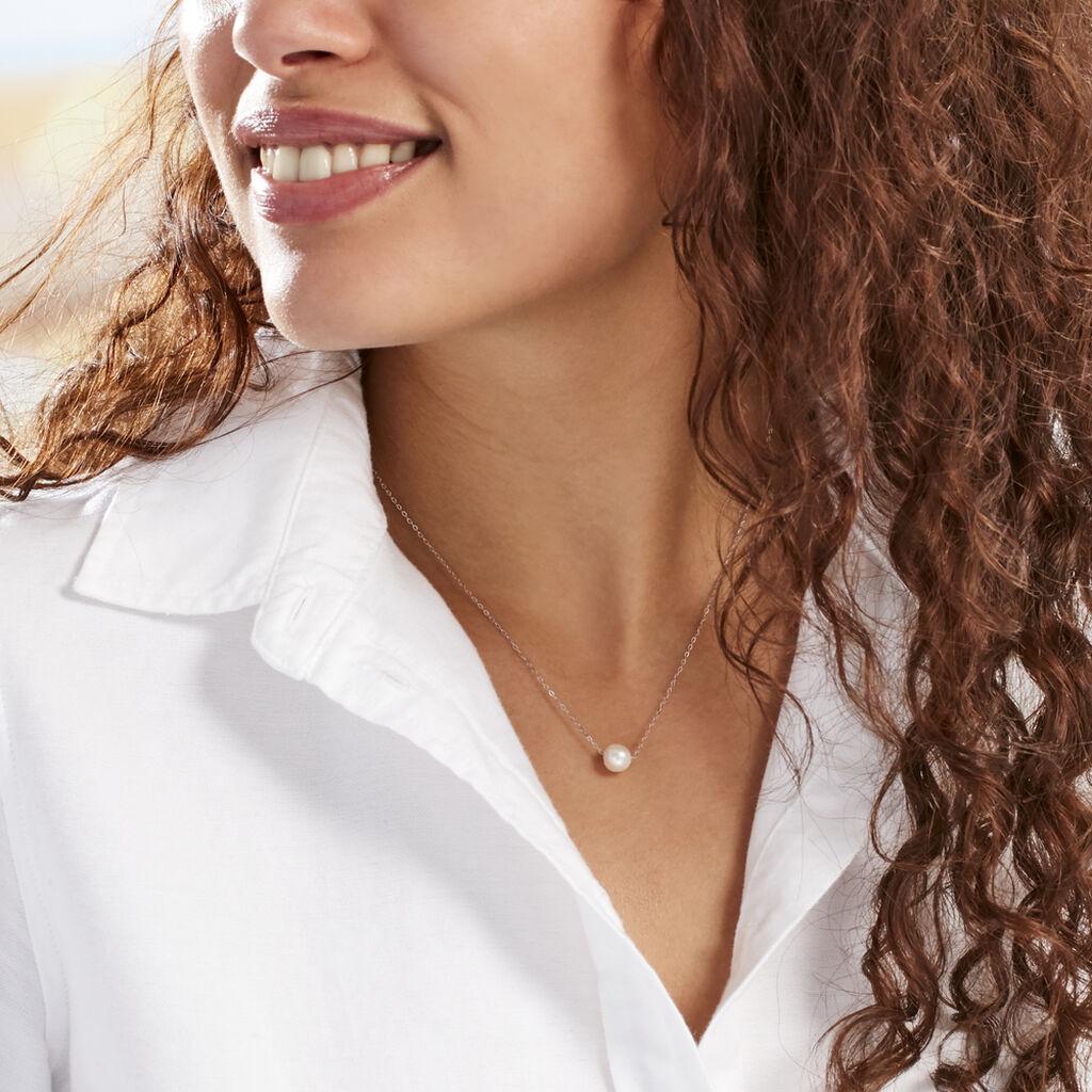 Collier Sissy Or Blanc Perle De Culture - Bijoux Femme | Histoire d'Or