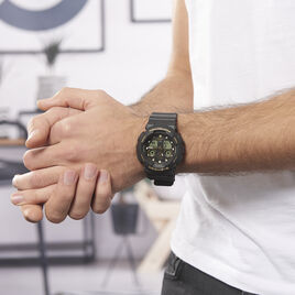 Montre Casio G-shock Ga-100gbx-1a9er - Montres sport Homme | Histoire d'Or