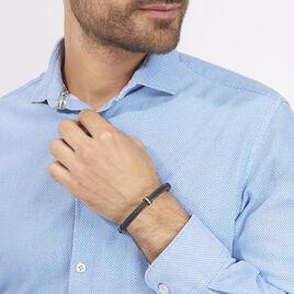 Bracelet Emerson Acier Blanc - Bracelets fantaisie Homme   Histoire d'Or