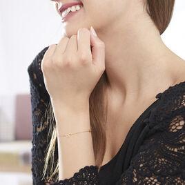 Bracelet Edinna Or Jaune - Bracelets Plume Femme | Histoire d'Or