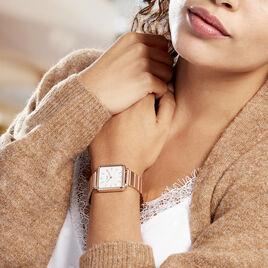 Montre Cluse La Tetragone Blanc - Montres Femme | Histoire d'Or