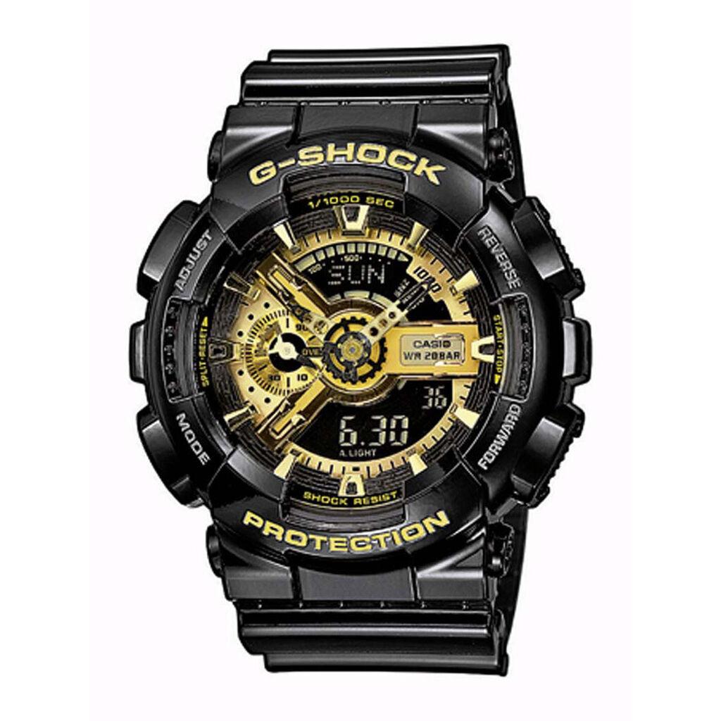 Montre Casio G-shock Gold Noir - Montres Homme   Histoire d'Or